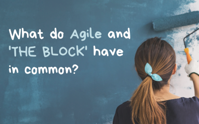 What do Agile and 'THE BLOCK' have in common?